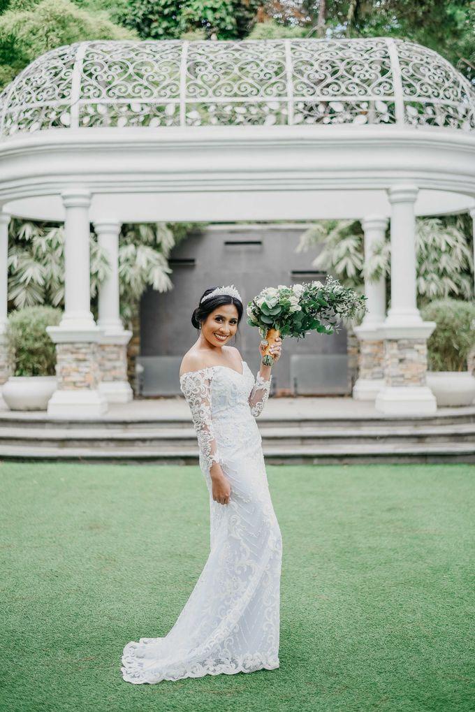 Tagaytay Wedding  Neil & Aika  Hillcreek Gardens by The LoveStruck Photography - 042
