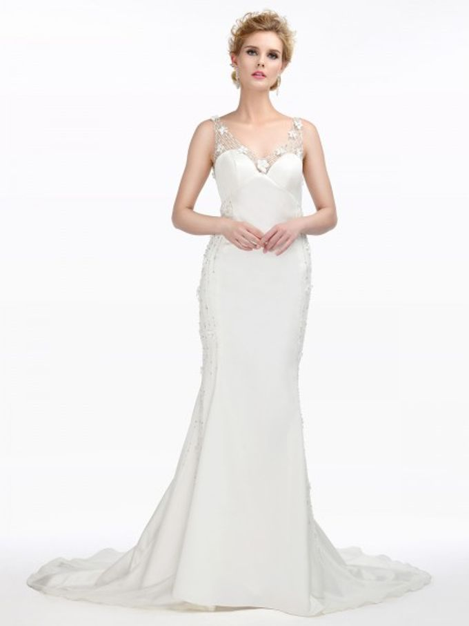 Brides Gown by AWEI Bridal - 009