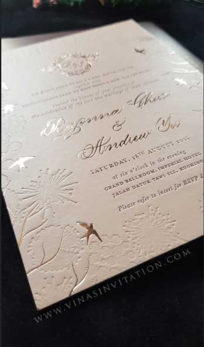 Ryonna Andrew 2 By Vinas Invitation Bridestory Com