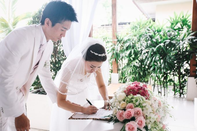 The Wedding of Mr Tadashi and Ms Hye Jin by Bali Wedding Atelier - 010