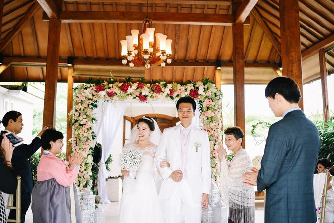 The Wedding of Mr Tadashi and Ms Hye Jin by Bali Wedding Atelier - 011