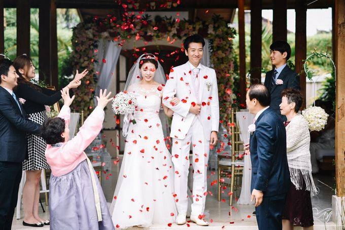 The Wedding of Mr Tadashi and Ms Hye Jin by Bali Wedding Atelier - 012