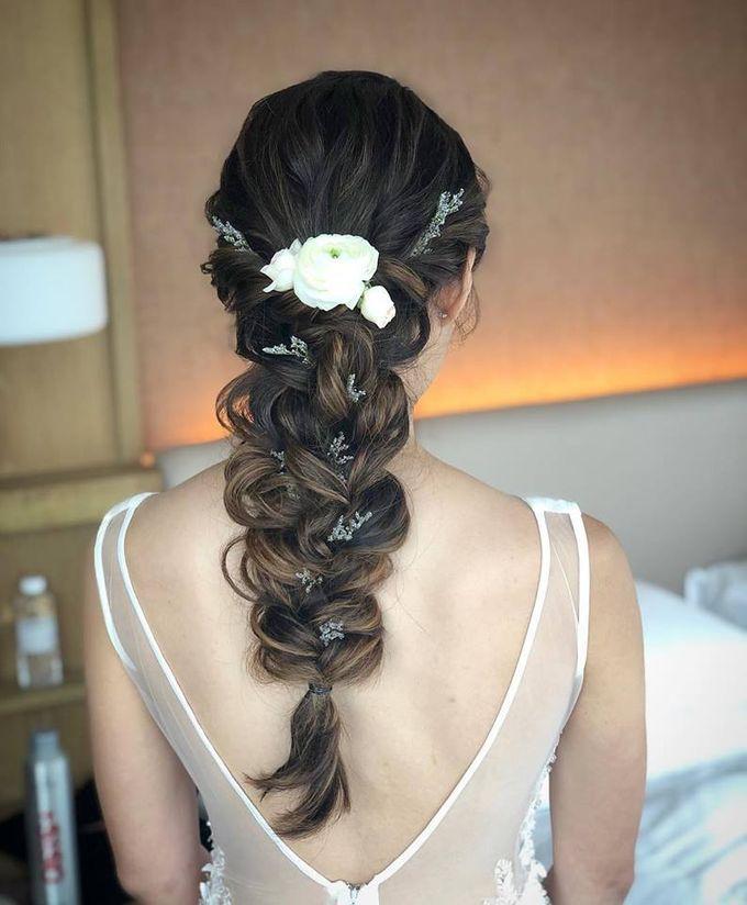 Bridal Hairdo by TangYong Hair & Makeup - 002