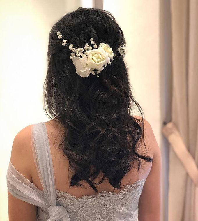 Bridal Hairdo by TangYong Hair & Makeup - 003