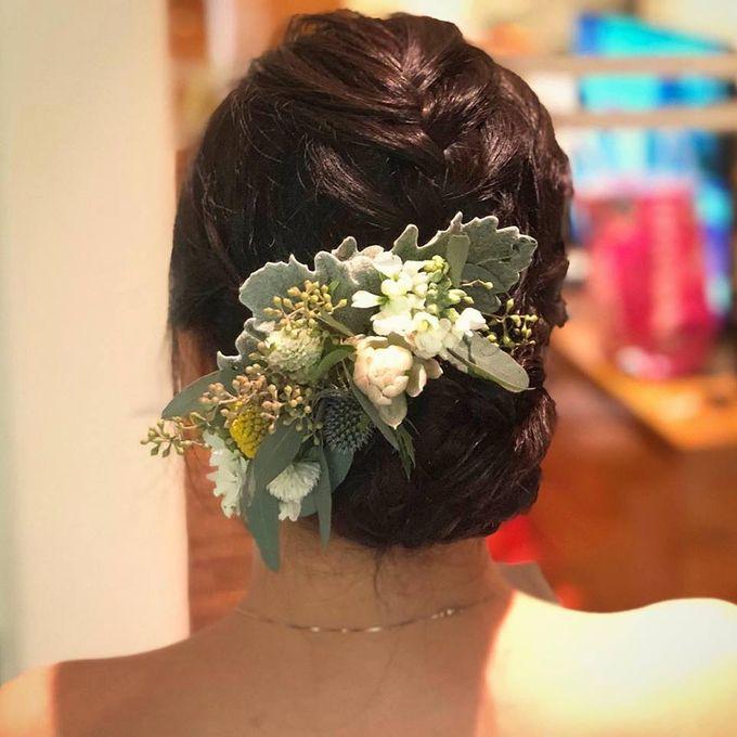 Bridal Hairdo by TangYong Hair & Makeup - 004