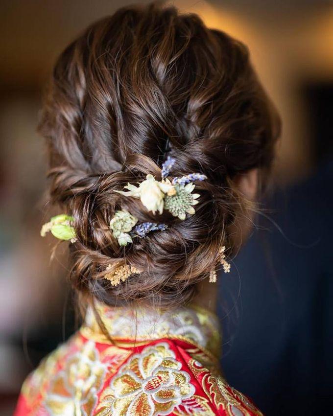 Bridal Hairdo by TangYong Hair & Makeup - 005