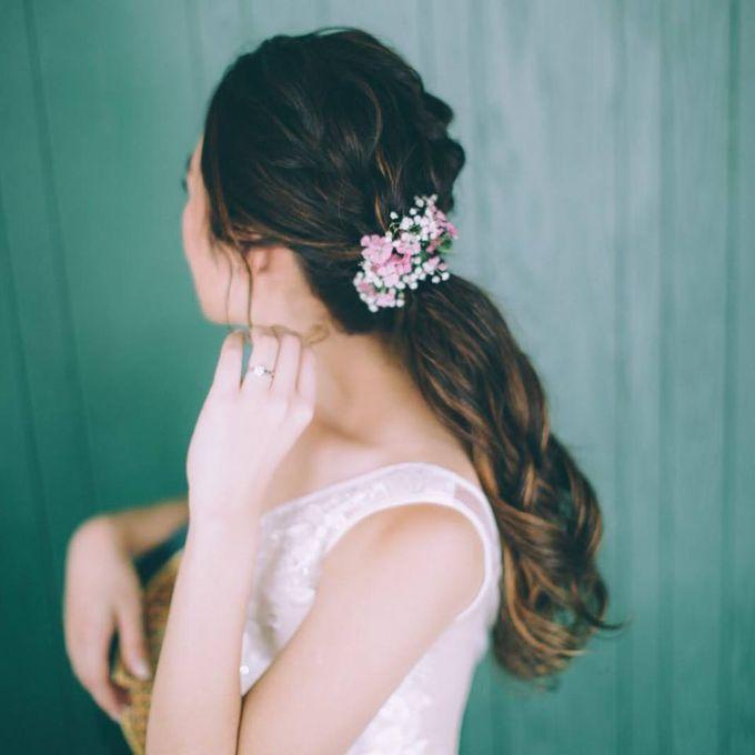 Bridal Hairdo by TangYong Hair & Makeup - 006