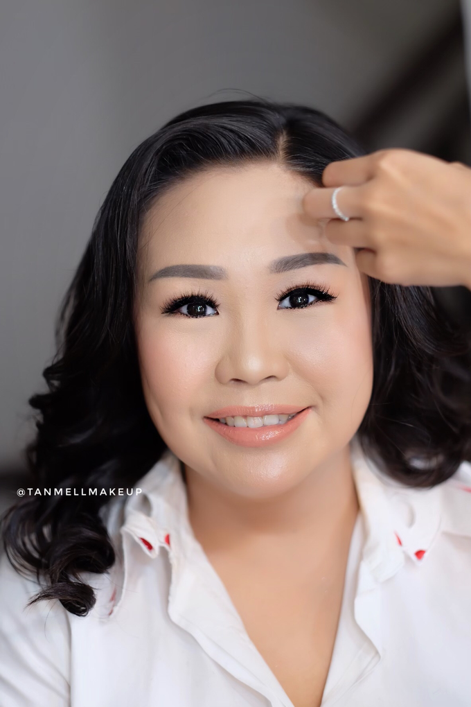 brides to be .. test makeup for prewedding  by tanmell makeup - 003