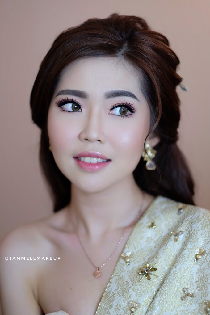 makeup n hairdo for holy matrimony by tanmell makeup - 002
