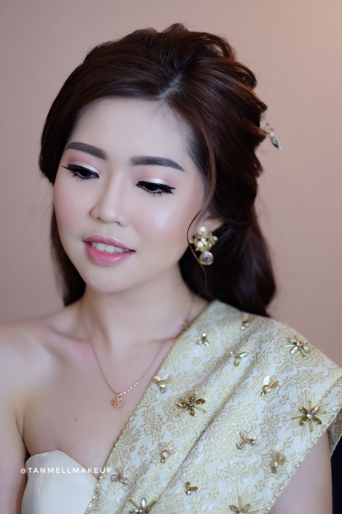 makeup n hairdo for holy matrimony by tanmell makeup - 005