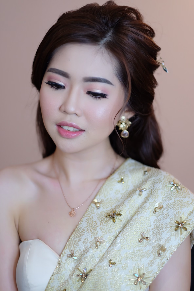 makeup n hairdo for holy matrimony by tanmell makeup - 007