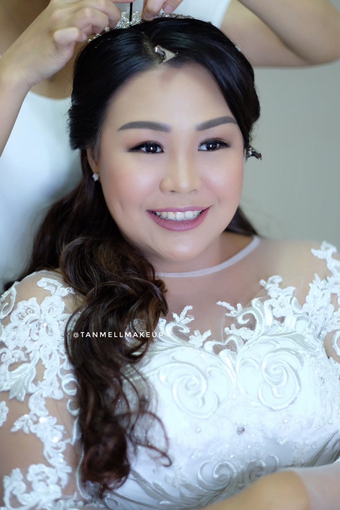 wedding makeup . simple and soft makeup as request by tanmell makeup - 002