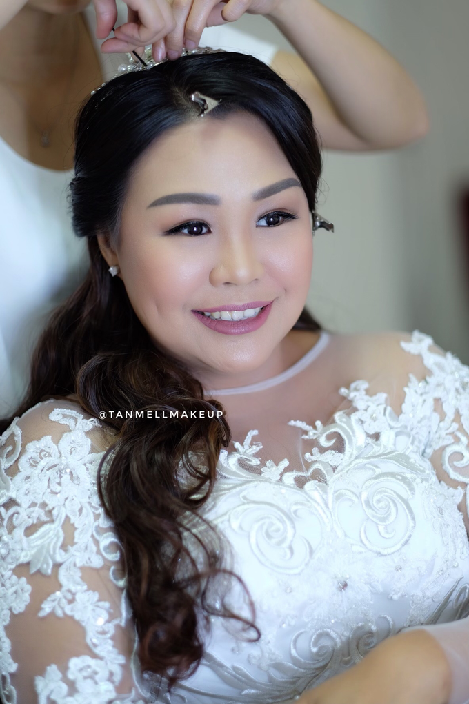 wedding makeup . simple and soft makeup as request by tanmell makeup - 001