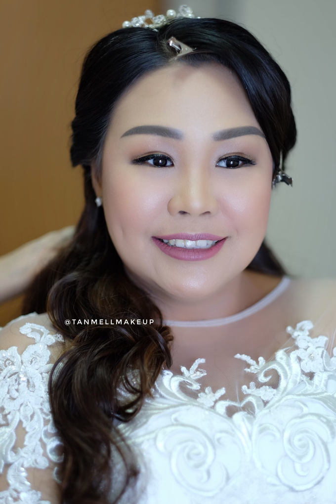 wedding makeup . simple and soft makeup as request by tanmell makeup - 004