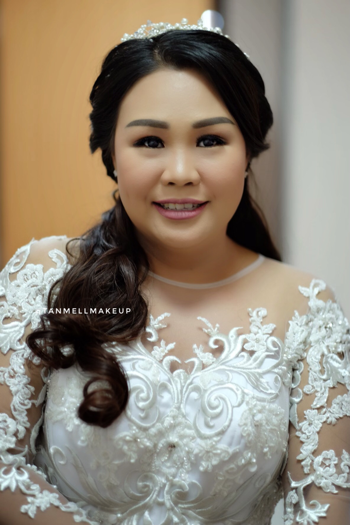 wedding makeup . simple and soft makeup as request by tanmell makeup - 005