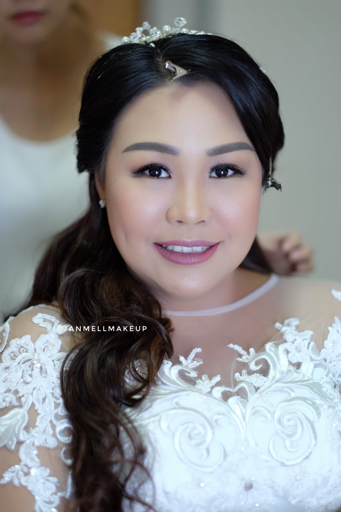 wedding makeup . simple and soft makeup as request by tanmell makeup - 003