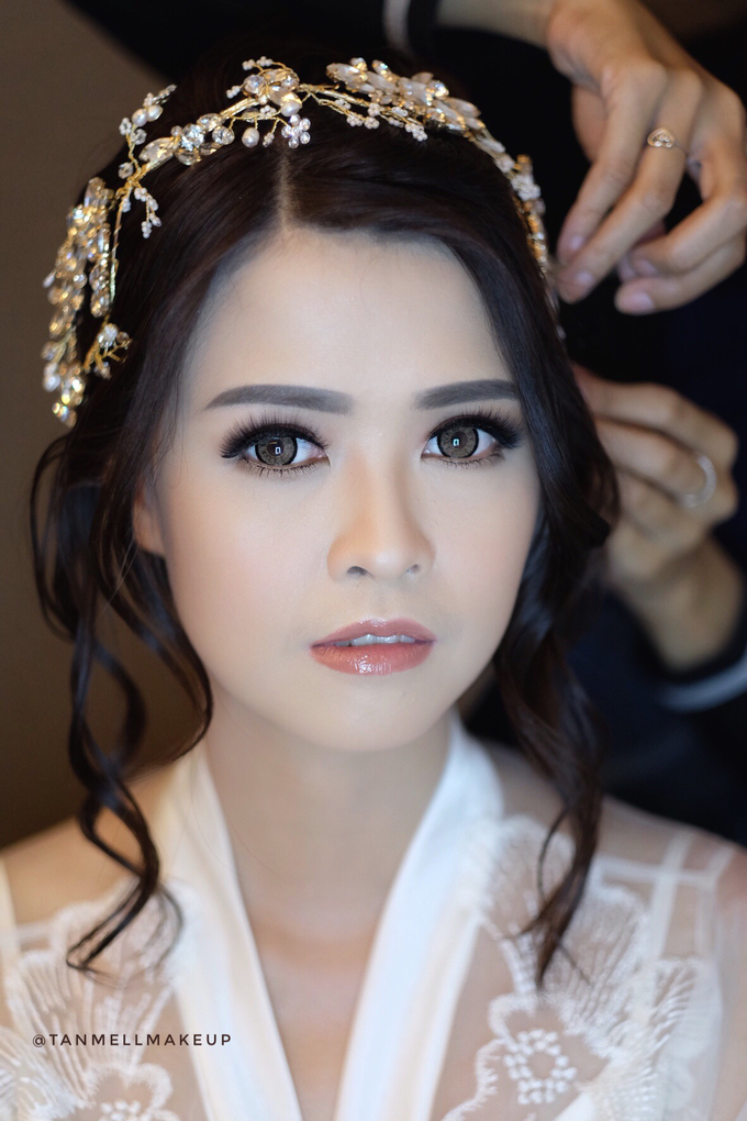 wedding makeup by tanmell makeup - 007