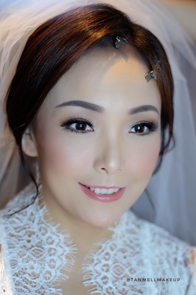 wedding morning makeup by tanmell makeup - 001