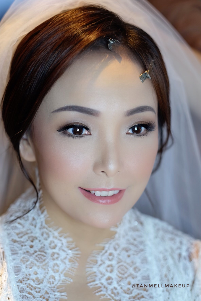 wedding morning makeup by tanmell makeup - 002
