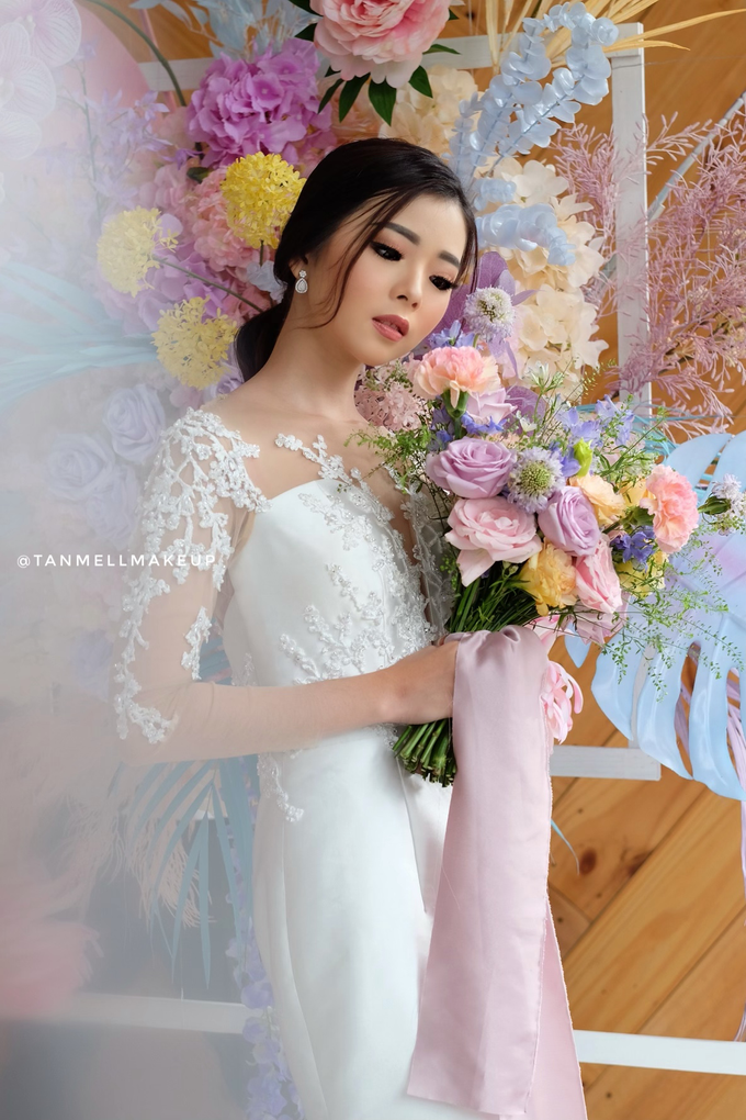 airbrush wedding makeup by tanmell makeup - 011