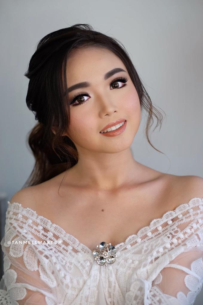 Wedding airbrush makeup by tanmell makeup - 007