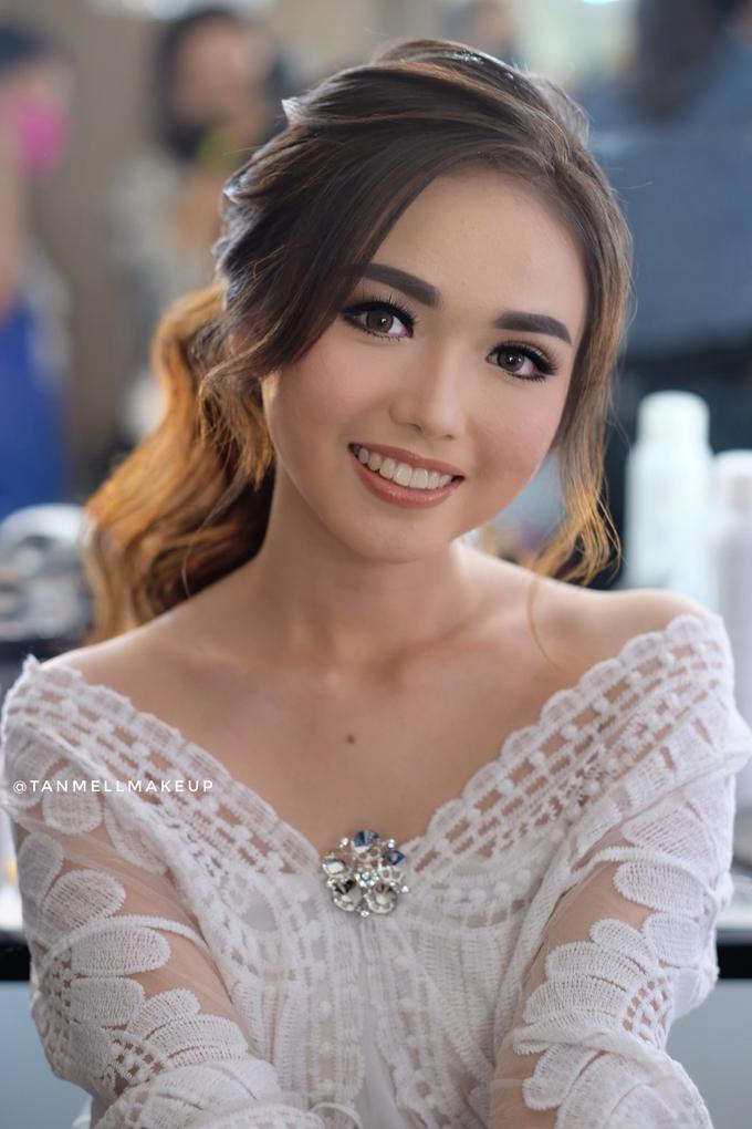 Wedding airbrush makeup by tanmell makeup - 033