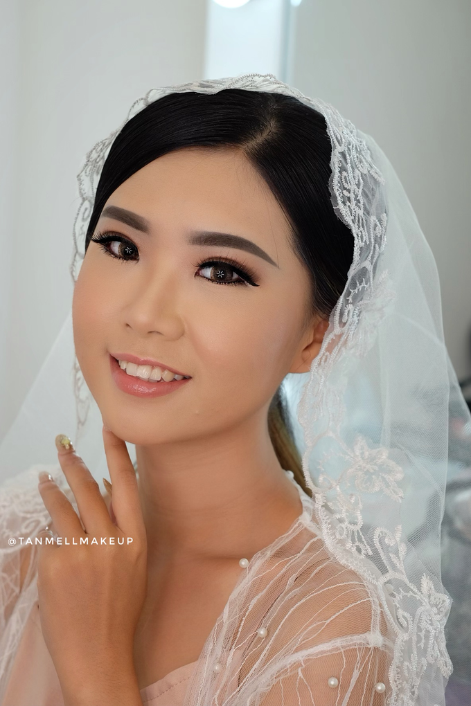 Wedding Airbrush Makeup by tanmell makeup - 005