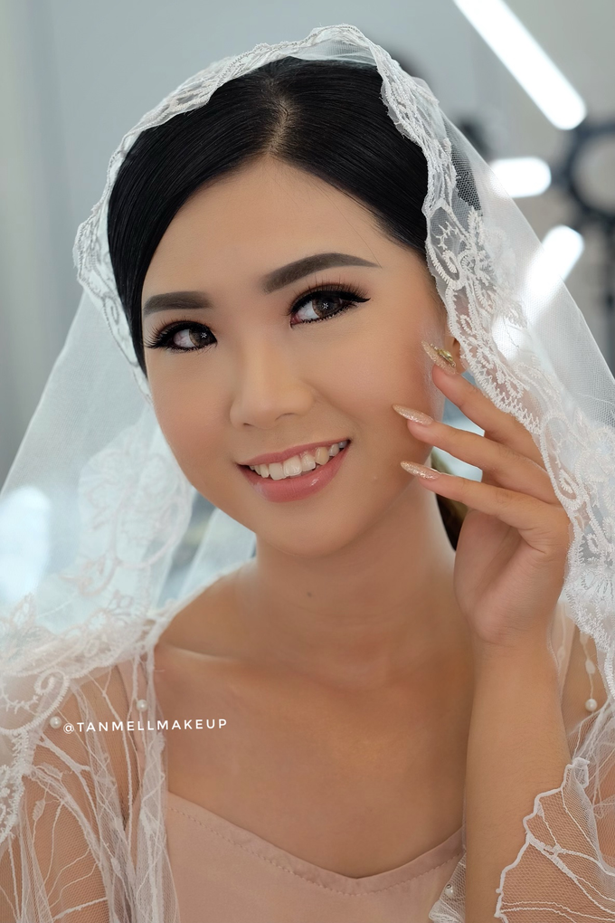 Wedding Airbrush Makeup by tanmell makeup - 004