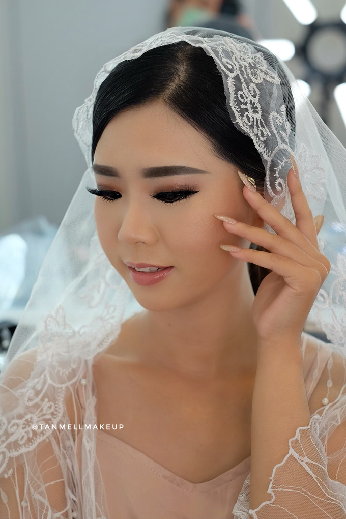 Wedding Airbrush Makeup by tanmell makeup - 002