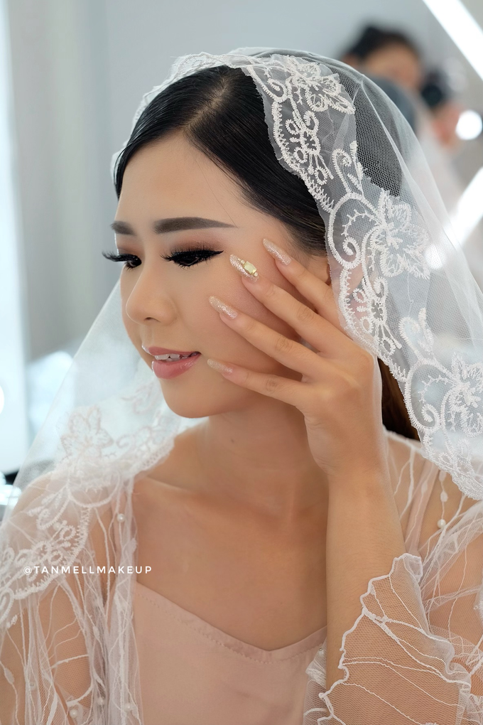 Wedding Airbrush Makeup by tanmell makeup - 003