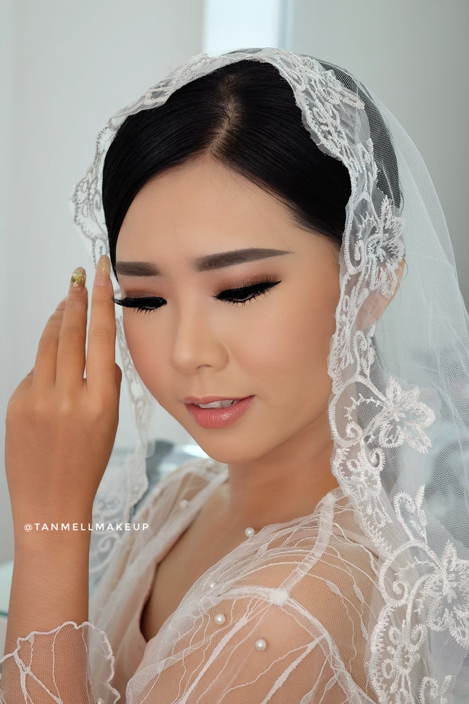 Wedding Airbrush Makeup by tanmell makeup - 006