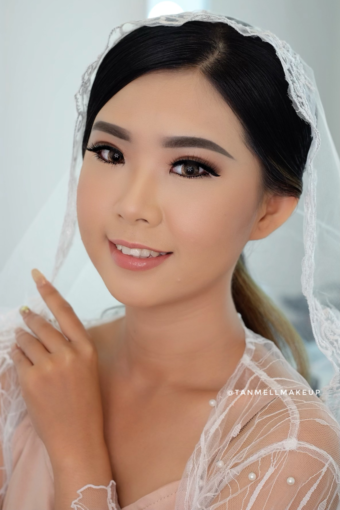 Wedding Airbrush Makeup by tanmell makeup - 008