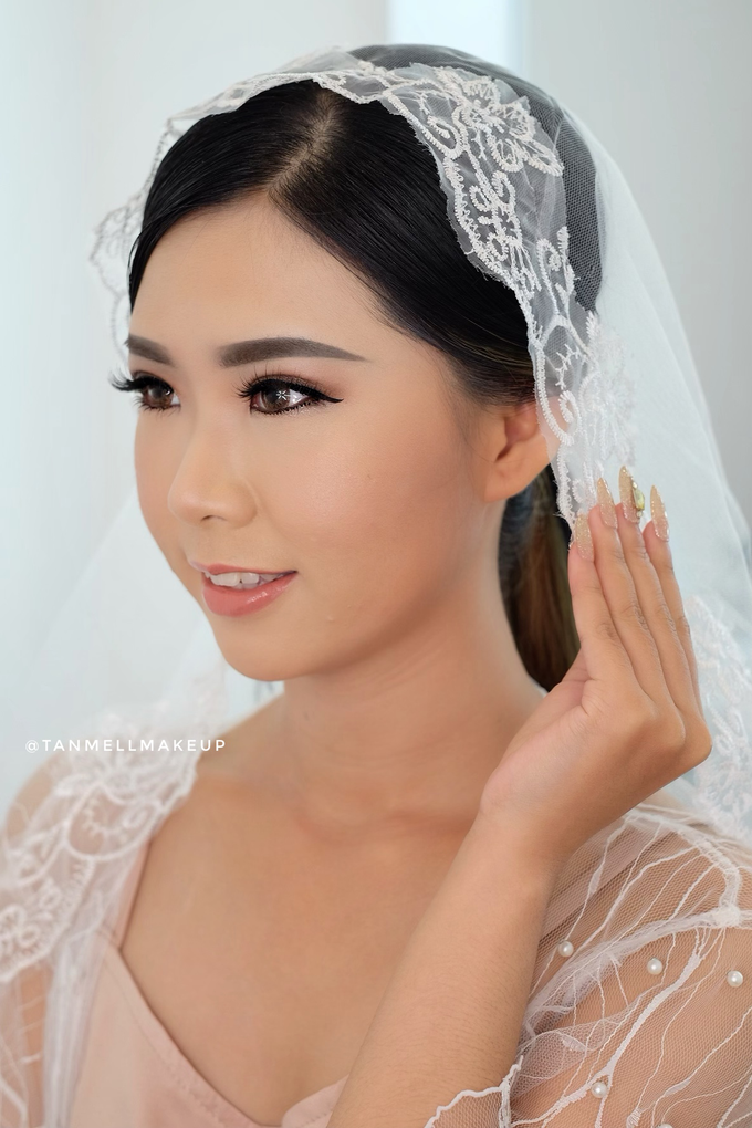 Wedding Airbrush Makeup by tanmell makeup - 009