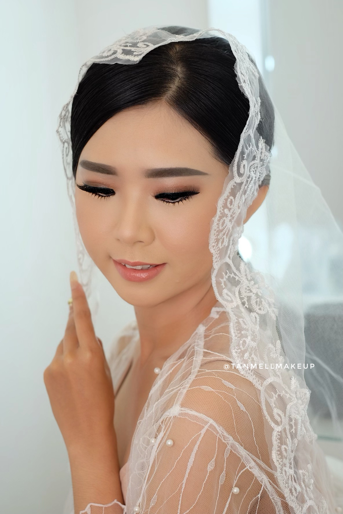 Wedding Airbrush Makeup by tanmell makeup - 010
