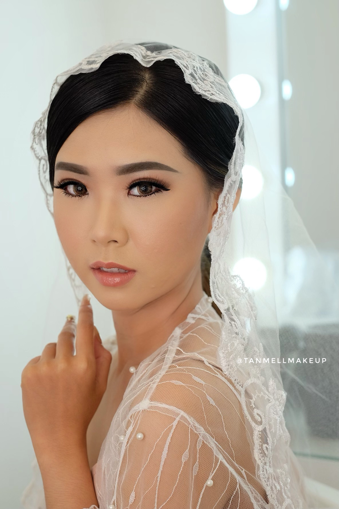 Wedding Airbrush Makeup by tanmell makeup - 011