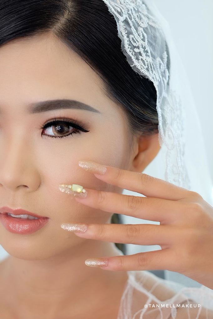 Wedding Airbrush Makeup by tanmell makeup - 012