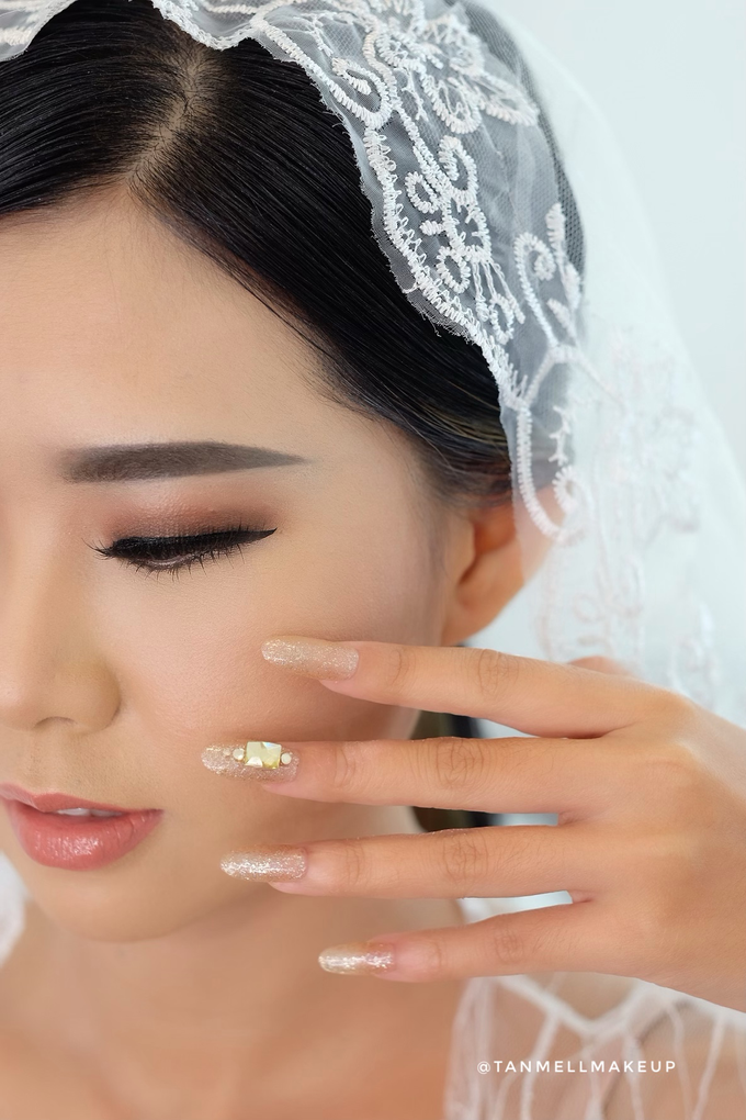 Wedding Airbrush Makeup by tanmell makeup - 013