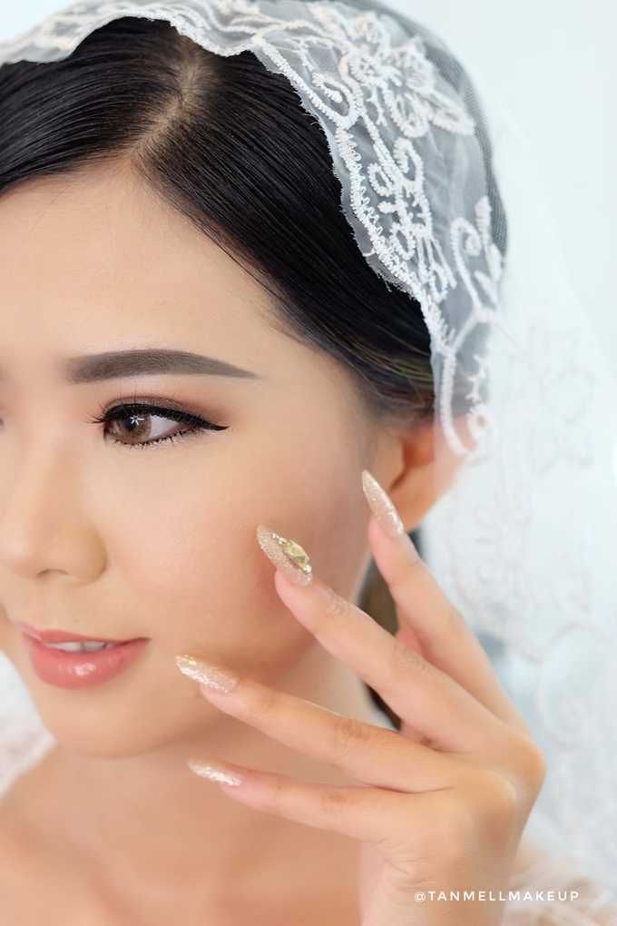 Wedding Airbrush Makeup by tanmell makeup - 014