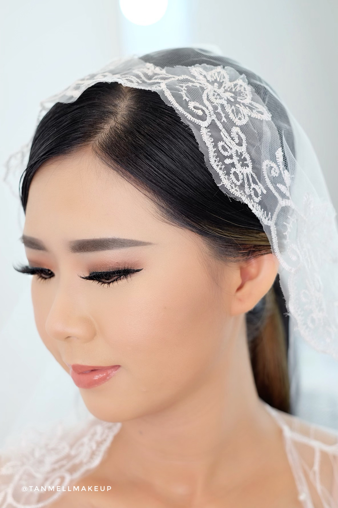Wedding Airbrush Makeup by tanmell makeup - 015