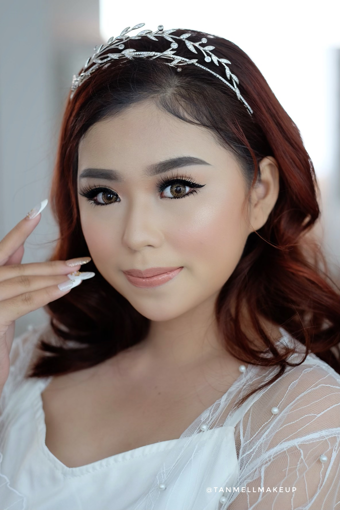 Wedding Airbrush Makeup by tanmell makeup - 003