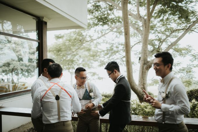 Andy & Tiffenie Wedding at The Cliffside Private Villa - Morning part 1 by Vilia Wedding Planner - 021