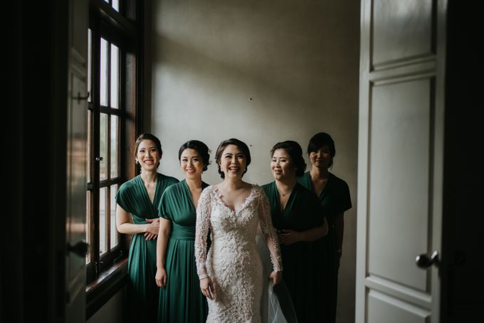Bridal Squad from The Wedding of Tiffenie & Andy by Vilia Wedding Planner - 006