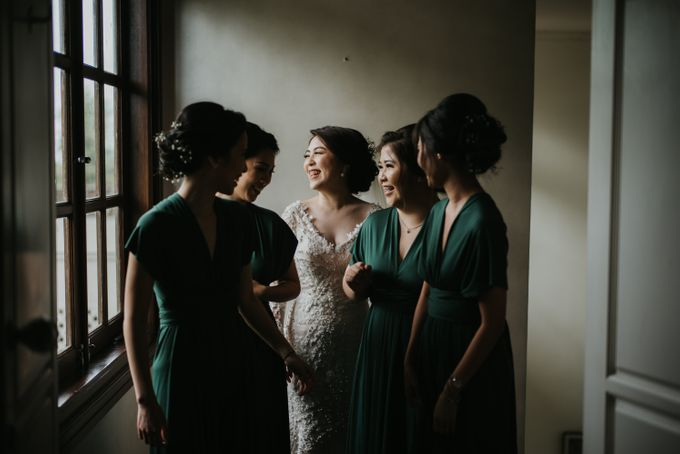 Bridal Squad from The Wedding of Tiffenie & Andy by Vilia Wedding Planner - 007