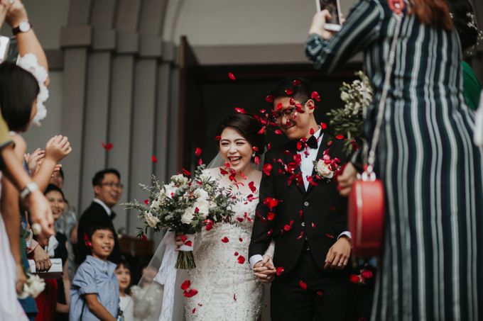 ANDY & TIFFENIE WEDDING AT THE CLIFFSIDE PRIVATE VILLA - HOLY MATRIMONY by Vilia Wedding Planner - 014