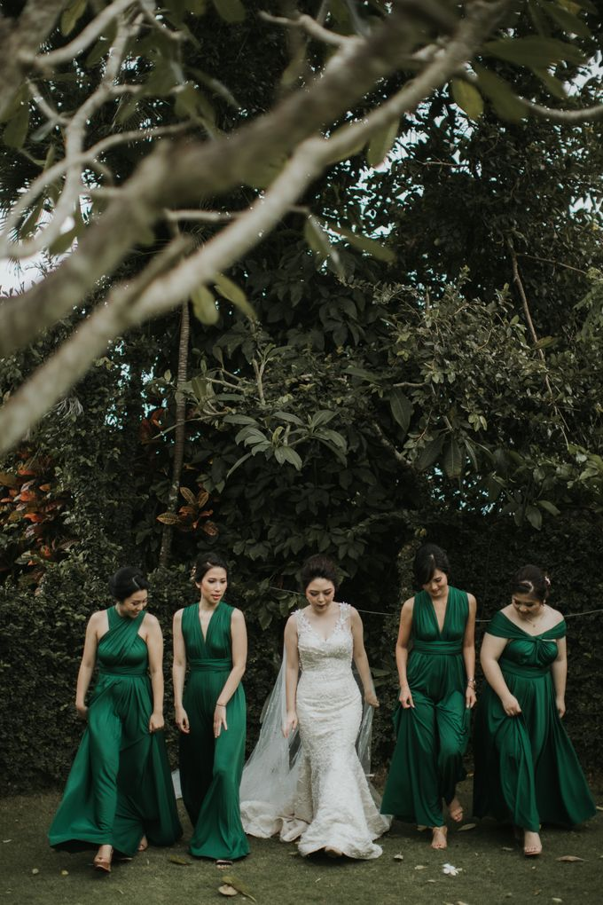 Bridal Squad from The Wedding of Tiffenie & Andy by Vilia Wedding Planner - 009
