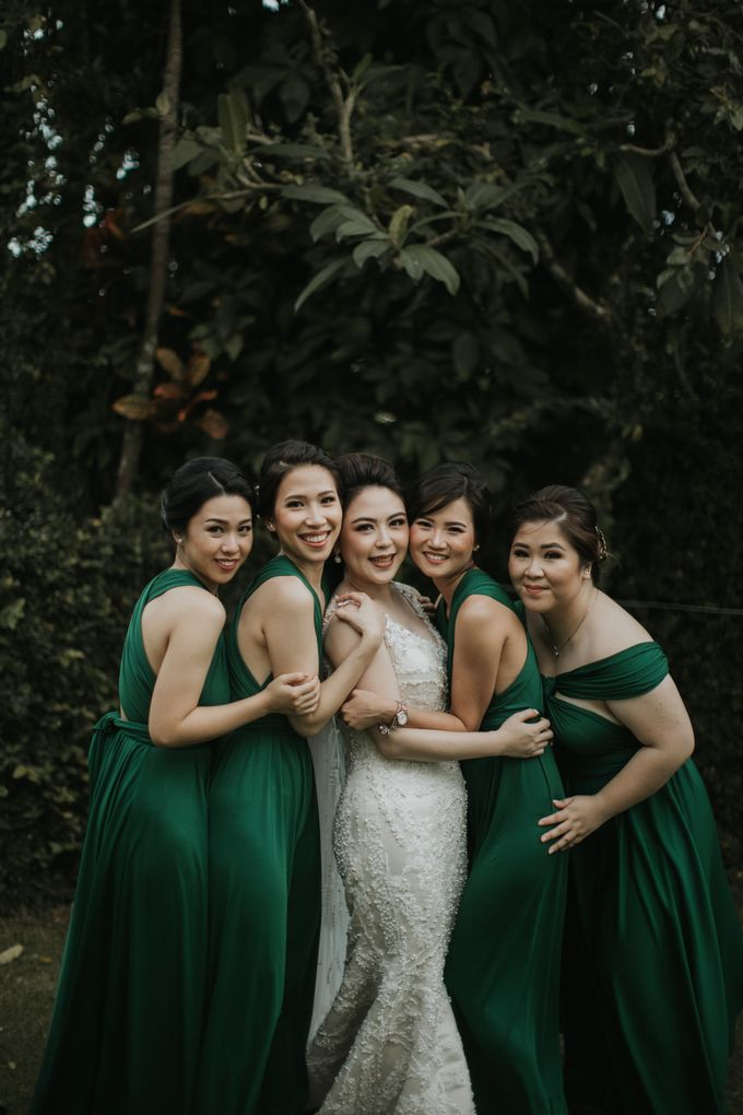 Bridal Squad from The Wedding of Tiffenie & Andy by Vilia Wedding Planner - 010