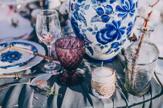Wedding In Gzhel Style by Marina Nazarova Photographer - 015