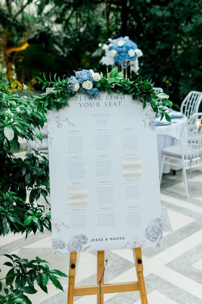 Real Wedding of Jesse & Mahsa by Tirtha Bridal - 003