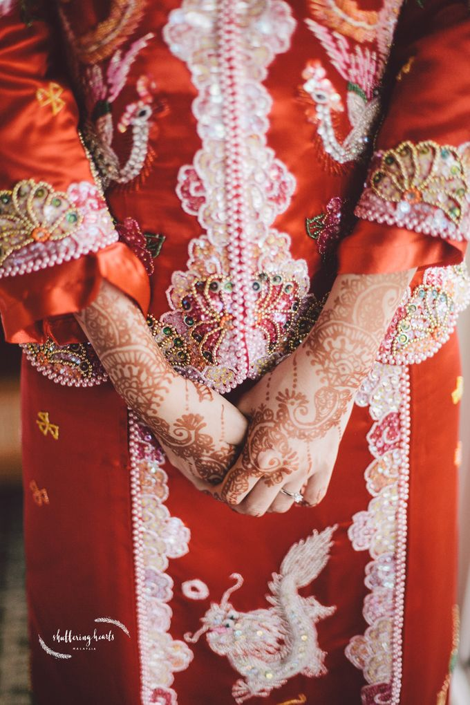 Chinese & Indian Wedding: Sagan & Evelyn by Shuttering Hearts - 006