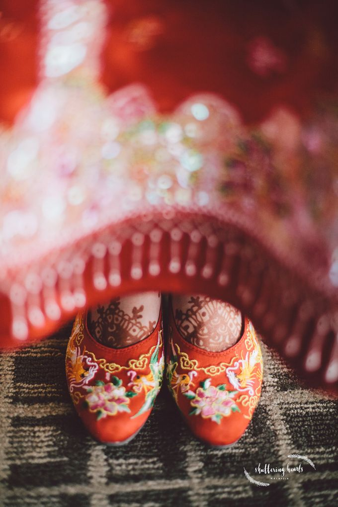 Chinese & Indian Wedding: Sagan & Evelyn by Shuttering Hearts - 007